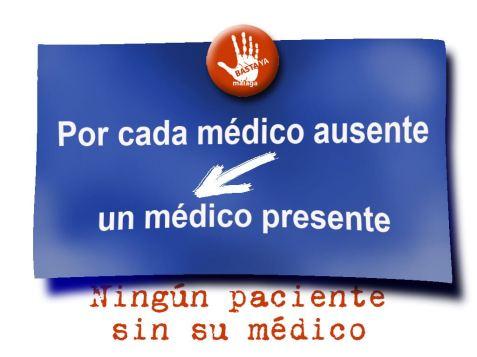 medico ausente y presente