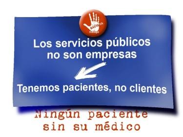 los servicios públicos no son empresas reducido