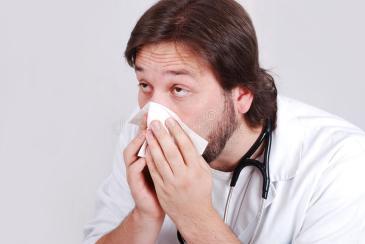medico enfermo
